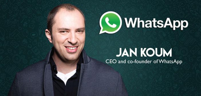 یان کوم - مدیر اجرای نرم افزار VoIP واتساپ